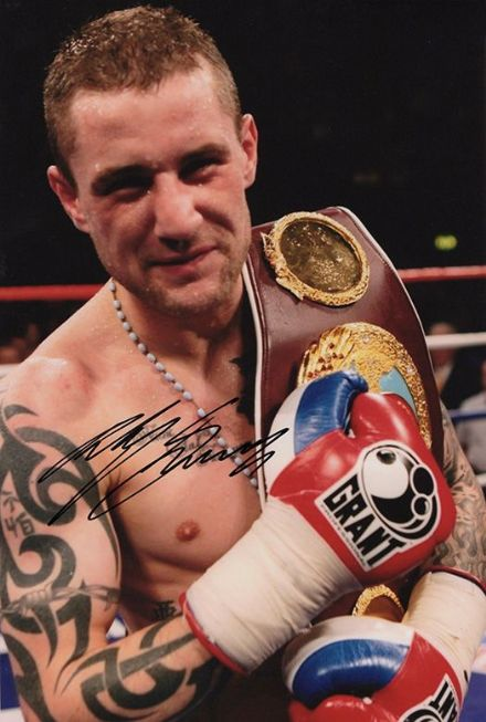 Ricky Burns, Scottish boxer, signed 12x8 inch photo.